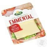 Сыр Arla Эмменталь твердый нарезанный ломтиками 45% 150г