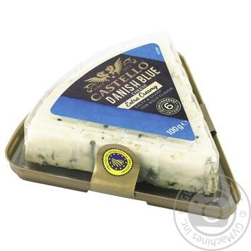Сыр Castello Данаблю Экстра с голубой плесенью 60% 100г