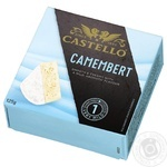 Castello Camembert Soft Cheese with White Mold 50% 125g
