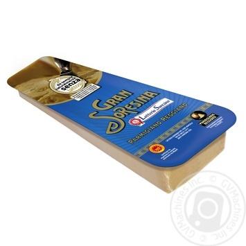 Сыр Латтерия Соресина пармезан твердый 32% 200г Италия