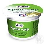 Крем-сир Адріа з огірком та кропом 55% 100г