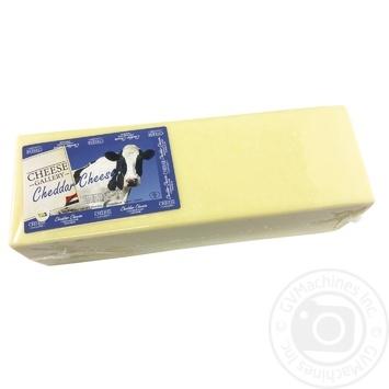 Сыр Cheese Gallery Чеддер брус 50%