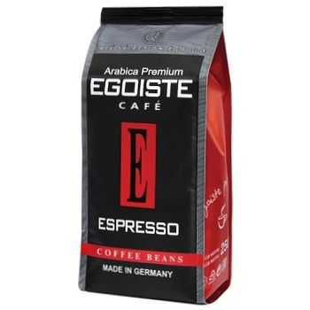 Egoist Espresso Whole Bean Coffee 250g - buy, prices for CityMarket - photo 1