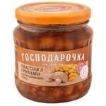 Квасоля Господарочка в домашньому соусі з грибами с/б твіст 460г