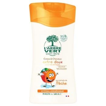 Гель для душу L`Ambre Vert Дитячий персик 250мл - купити, ціни на Varus - фото 1