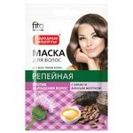 Fito Cosmetic Burdock Hair Mask with Cocoa and Egg Yolk 30ml