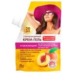 Сонцезахисний крем Fito cosmetic Народні рецепти з персиковою олією SPF 20 50мл