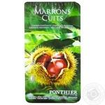Каштан Marrons Cuits чищенной 500г - купить, цены на Ашан - фото 1