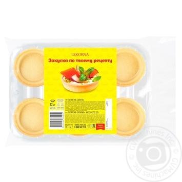 Lekorna waffle tartlets 12psc 192g - buy, prices for Furshet - image 1