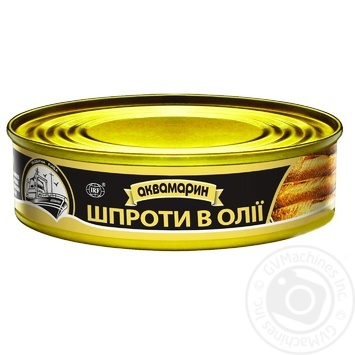 Akvamaryn In Oil Sprats 150g - buy, prices for Auchan - image 5