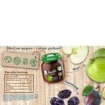 Пюре Gerber Яблуко і чорнослив 130г - купити, ціни на МегаМаркет - фото 3
