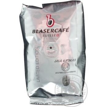 Кофе Блазеркафе Лимитед Эдишн Ява Катакан жареный в зернах 250г Швейцария - купить, цены на МегаМаркет - фото 1