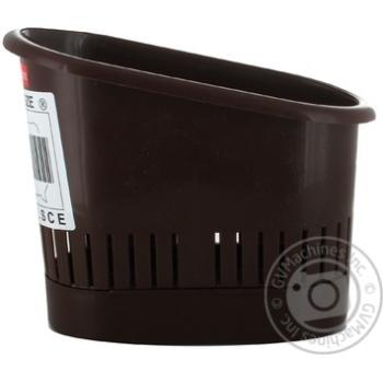 Сушилка для столового приладдя Plast Team Блакитна - купити, ціни на Novus - фото 2