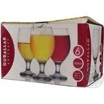 Набір склянок ArtCraft для пива Misket 400мл 6шт - купити, ціни на Novus - фото 3