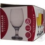 Набір склянок ArtCraft для пива Misket 400мл 6шт - купити, ціни на Novus - фото 2