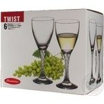 Glass Pasabahce for wine 6pcs