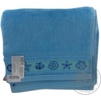 Рушник банний махровий Ozdilek 50*90 блакитний