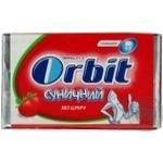 Гумка жувальна Orbit Дитячий Полуниця пластинки 11,5г