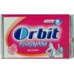 Гумка жувальна Orbit Дитячий Classic пластинки 11,5г