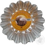 Форма SNB для выпечки кексов круглая без втулки d14см