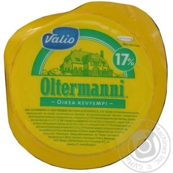 Сир Валіо Олтерманні напівтвердий 17% 250г - купити, ціни на Ашан - фото 1