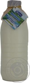 Молоко Гармония пастеризованное 2.5% 930г пластиковая бутылка Украина