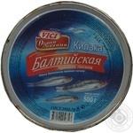 Килька Вичи Душа Океана Балтийская пряного посола 500г железная банка Россия