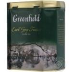 Black tea Greenfield Earl Grey Fantasy 150g can Russia
