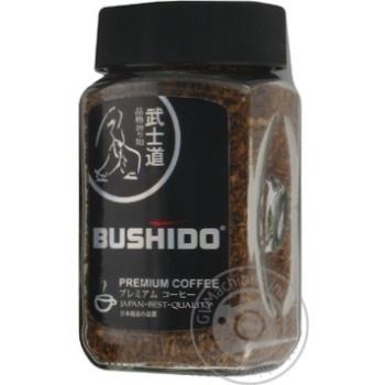 Кофе Бушидо Блэк Катана арабика натуральный растворимый сублимированный 100г Швейцария