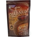 Natural instant sublimated coffee Elite Platinum 80g Russia