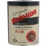 Coffee beans Bushido Original Arabica 250g Switzerland