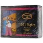 Tea Mabrok 1001 nights black packed 100pcs 200g cardboard packaging Sri-lanka