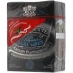 Black pekoe tea Sun Gardens Earl Grey with bergamot big leaf 90g Ukraine