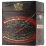 Черный чай Сан Гарденс цейлонский байховый крупнолистовой высшего сорта Пекое 100г Украина