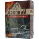 Black pekoe tea Dobrynya Nikitich Strong medium leaf 500g Ukraine