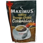 Natural instant freeze-dried coffee Maximus Columbian 230g Ukraine