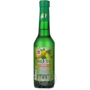 Оцет Уникон спиртовий з ароматом лимону 6% 0,25л