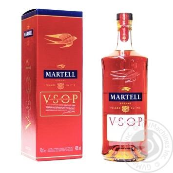 Коньяк Martell V.S.O.P. 40% 0,7л в подарунковiй упаковцi - купити, ціни на Novus - фото 3