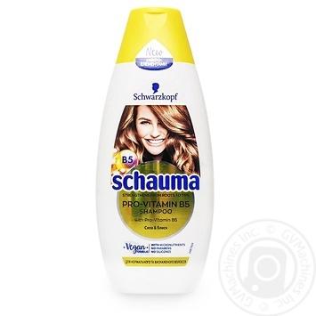 Шампунь Schauma Pro-vitamin B5 Сила и блеск 400мл - купить, цены на МегаМаркет - фото 1