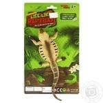 Игрушка-тянучка Qunxing Toys Желтая игуана