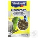 Добавка Vitakraft для попугаев в период линьки 25г
