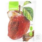Чіпси Sergio яблучні сушені з корицею 56г