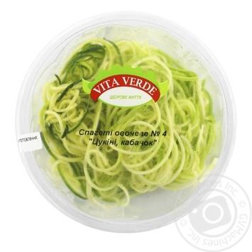 Спагеті овочеве №4 уп 270 г Vita Verde