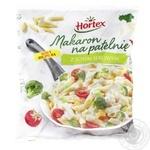 Макароны для жарки Hortex с сырным соусом замороженные 450г