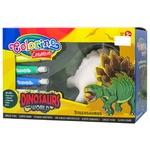 Colorino Stegosaurus Drawing Set