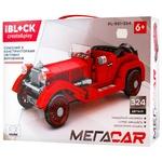 Iblock Construction Toy Car 324 details