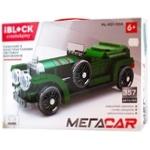 Игрушка Iblock Конструктор Машинка 357 деталей