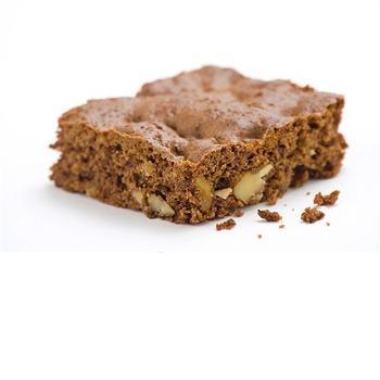 Шоколадно-миндальный кекс