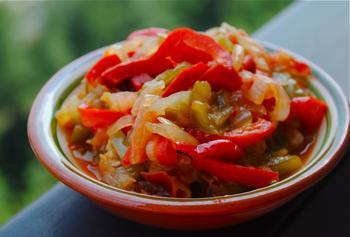 Пиперада (овощной гарнир)