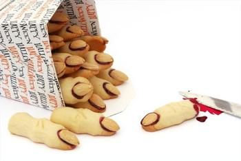 "Печенье на Хэллоуин ""Пальцы ведьм"""